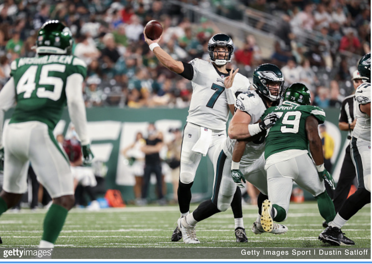 Catchy Ending: Jets Hail Mary Forges Tie In Backup Bowl