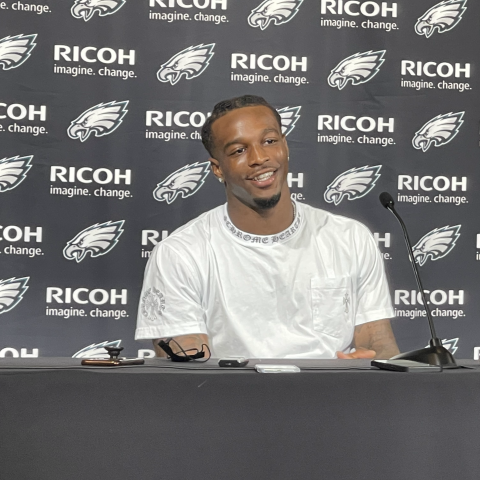 Quez Love: Birds Say Secret's Out On 2nd-Year Wideout